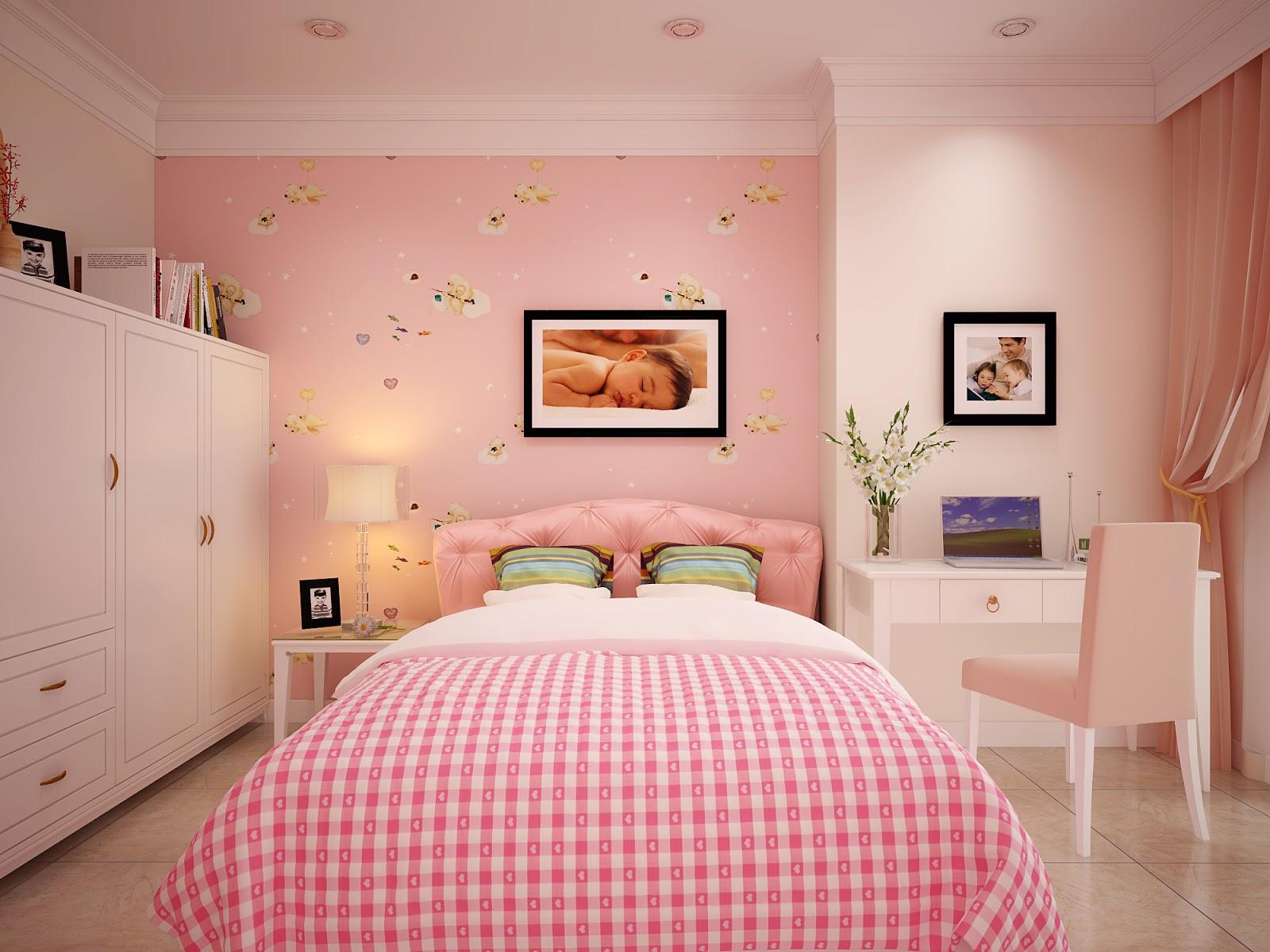 Gia chủ có thể sử dụng sơn tường pastel để trang trí cho không gian phòng ngủ của mình