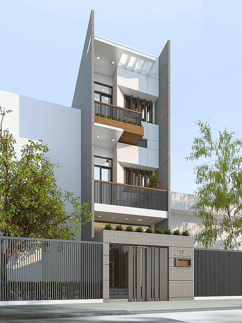 Trong thiết kế cửa chính, kiến trúc sư rất kiêng kỵ việc cửa chính đối diện cột điện cao áp