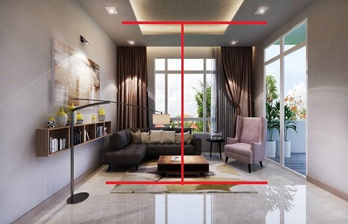 Thiết kế trần nhà cao bao nhiêu là hợp lý nhất khi xây dựng