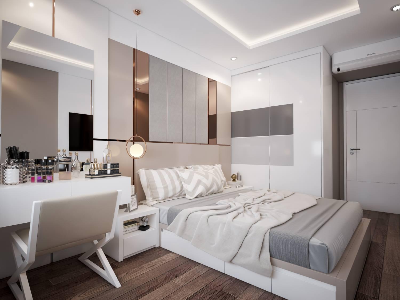 Gia chủ cần duy trì thói quen dọn dẹp giường ngủ gọn gàng, ngăn nắp đồng thời không được để đồ đạc lung tung ngay trên đầu giường
