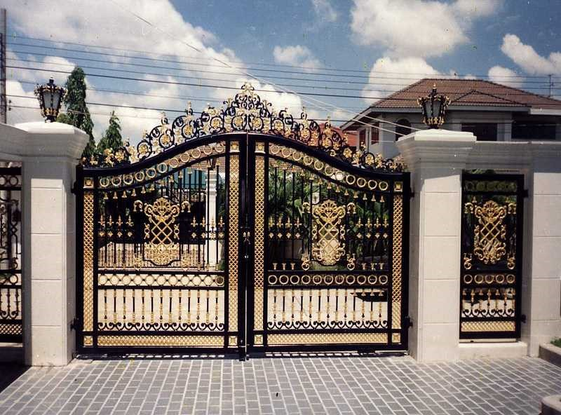 Xây cổng nhà đẹp cho năm 2019
