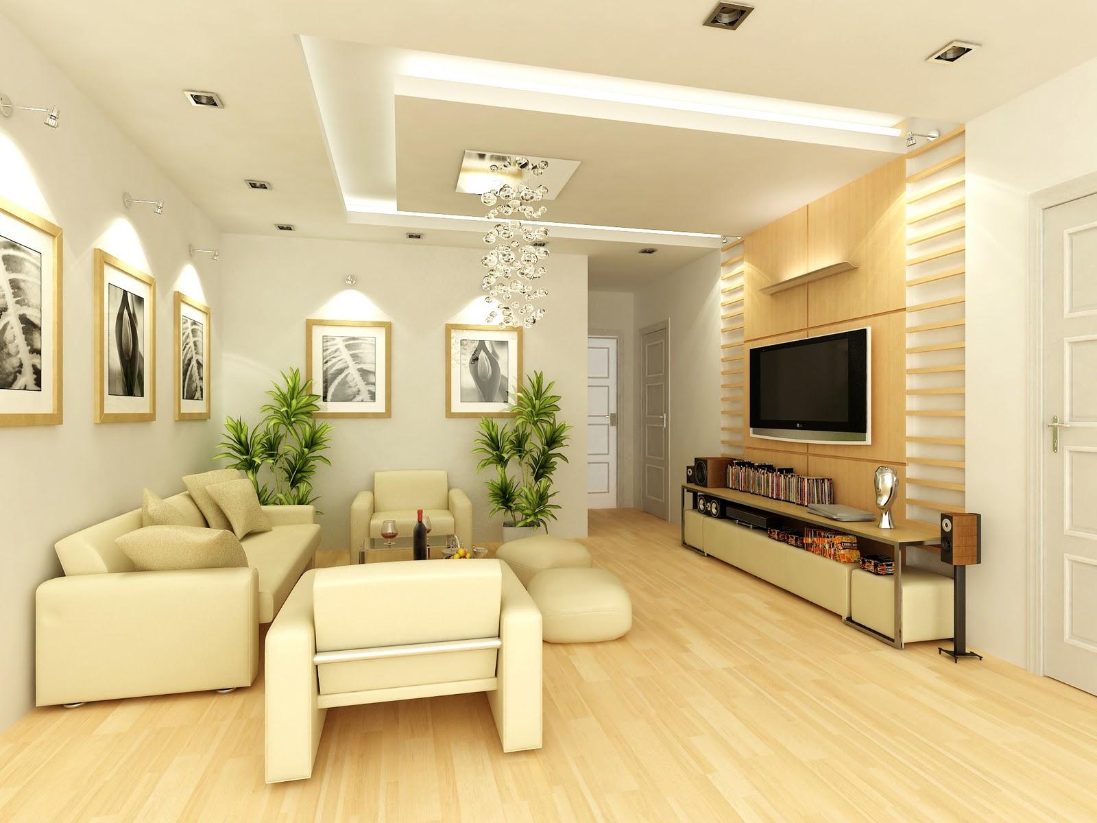 Gia chủ nên sử dụng các bề mặt sàn nhà có màu sáng, độ bóng loáng cao như sàn gỗ, gạch Vinyl