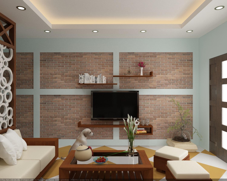 Chiều cao của đồ dùng nội thất có ảnh hưởng nhất định đến ấn tượng thị giác và chiều sâu không gian phòng khách