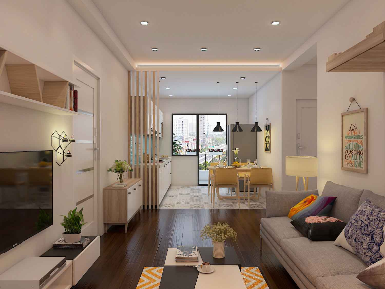 Sau khi chọn lựa nội thất phù hợp với không gian phòng khách, bạn cần bố trí, sắp xếp chúng sao cho thật khoa học