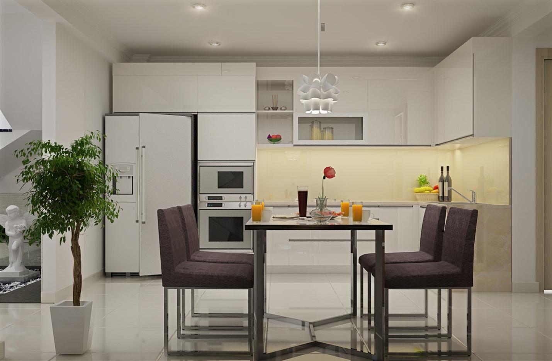Gia chủ nên chọn những loài cây dễ trồng để trang trí phòng bếp