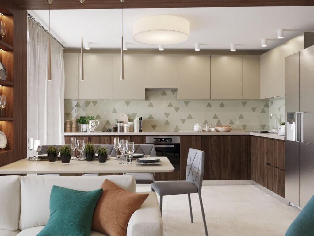 Để tránh sự nhàm chán, rập khuôn, bạn nên chọn vật dụng nội thất có tông màu đen, trắng, gỗ để kết hợp với màu Pastel