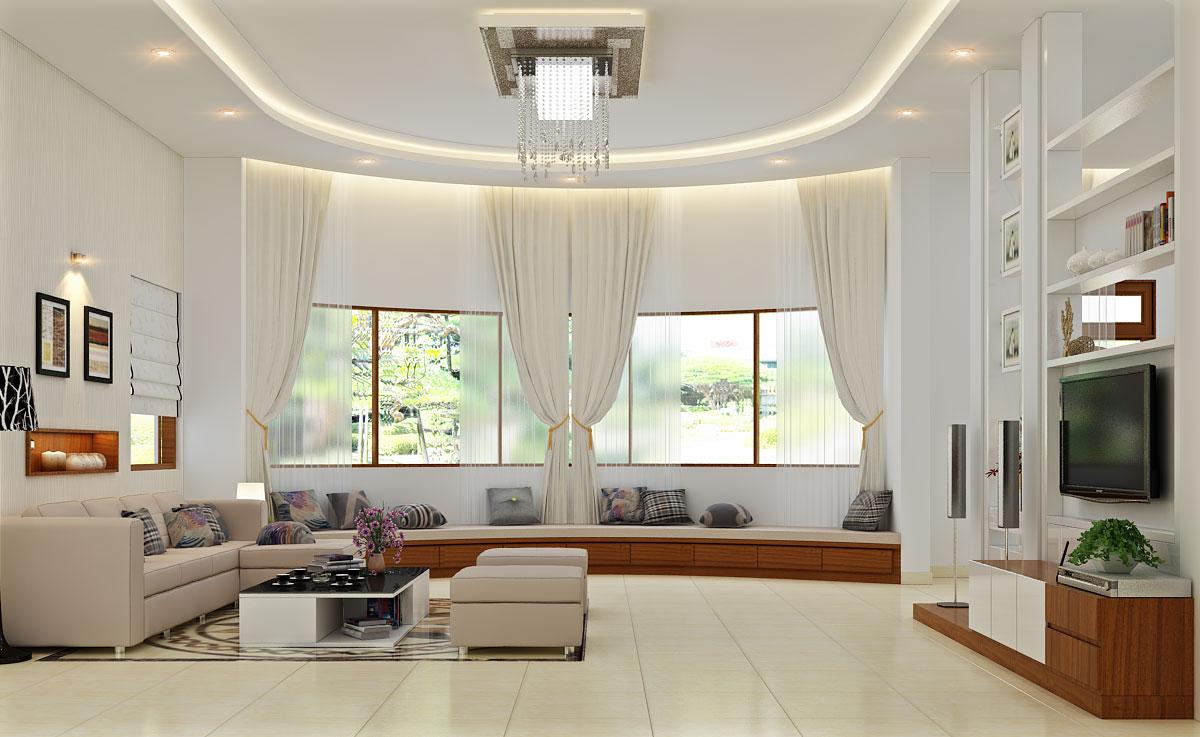 Phòng khách bao nhiêu m2 là hợp lý?