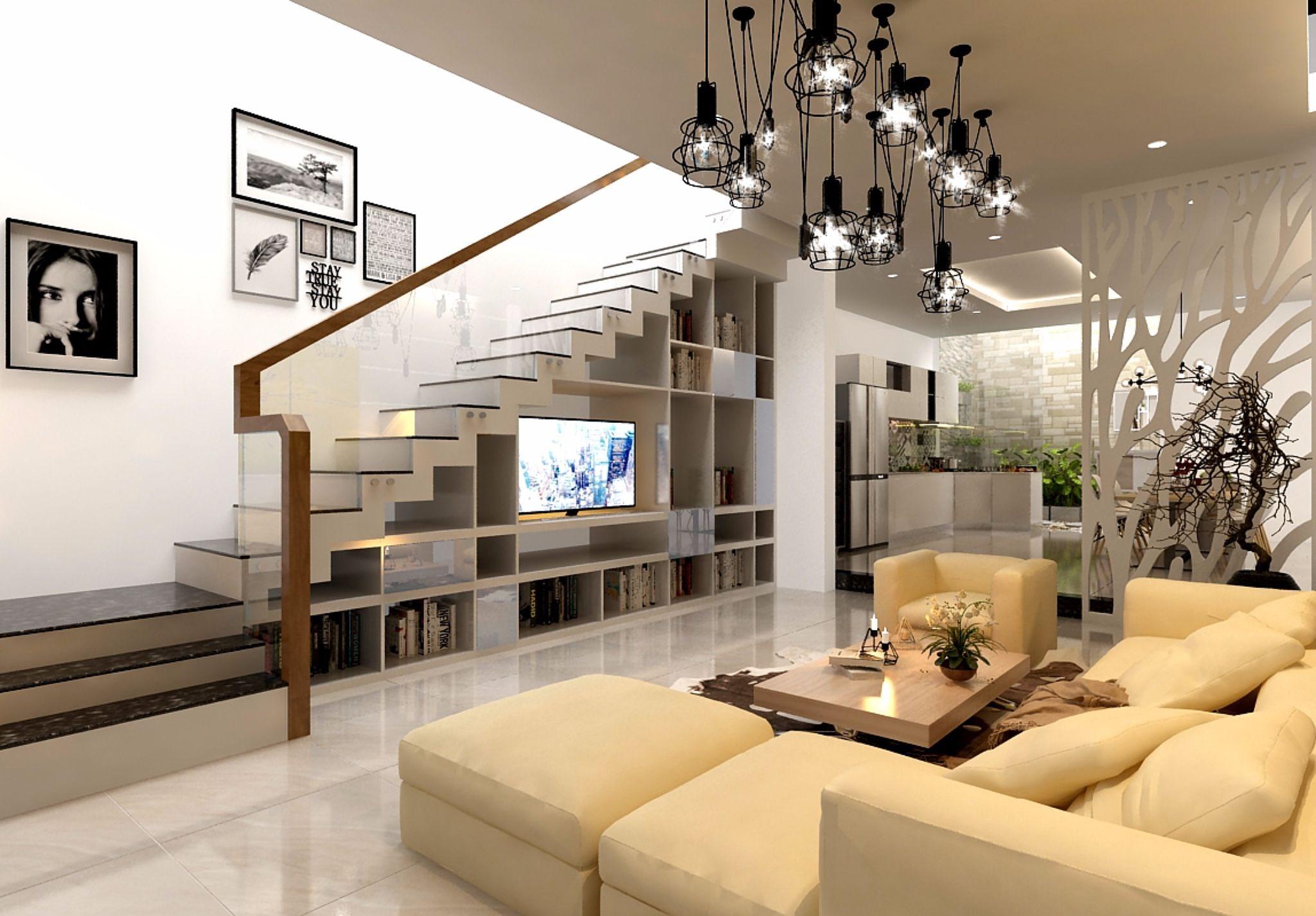 Cầu thang chính là điểm nối giữa các tầng không gian trong ngôi nhà, thế nên khâu thiết kế cần được chú trọng hơn cả