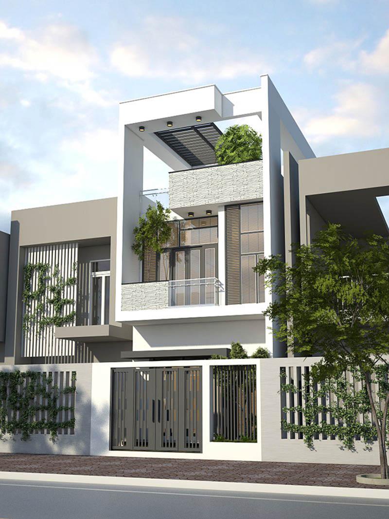 Sân thượng là không gian quen thuộc trong thiết kế nhà phố, phục vụ nhiều mục đích khác nhau