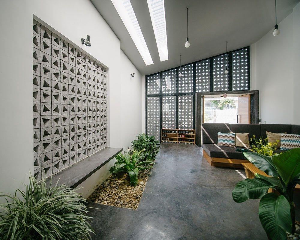 Các khu vườn nhỏ trong nhà sẽ giúp cho không gian luôn tươi mới, thanh lọc không khí