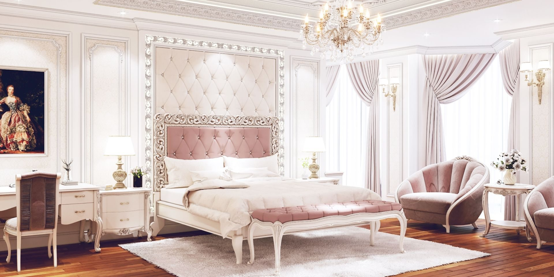 Những gam màu trong thiết kế nội thất phòng ngủ quyết định đến tính thẩm mỹ của toàn bộ không gian căn phòng