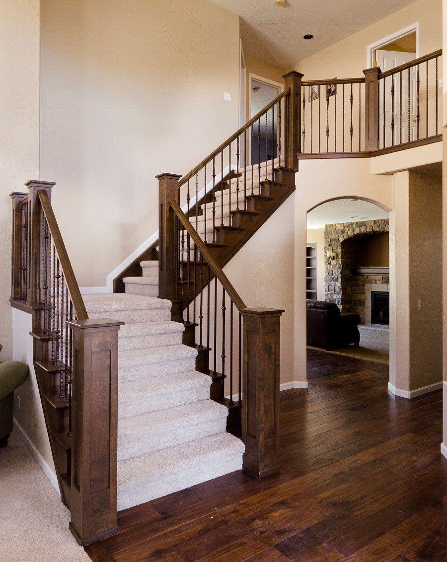 Theo quan niệm xưa, bố trí cầu thang không nên đặt cầu thang đối diện nhà vệ sinh