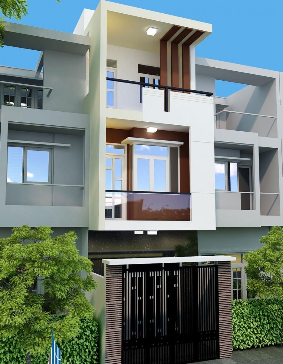 Gia chủ có thể chọn lựa các gam màu trung tính, nhẹ nhàng như trắng, vàng kem, xám, màu pastel để sử dụng cho phần nền ngôi nhà