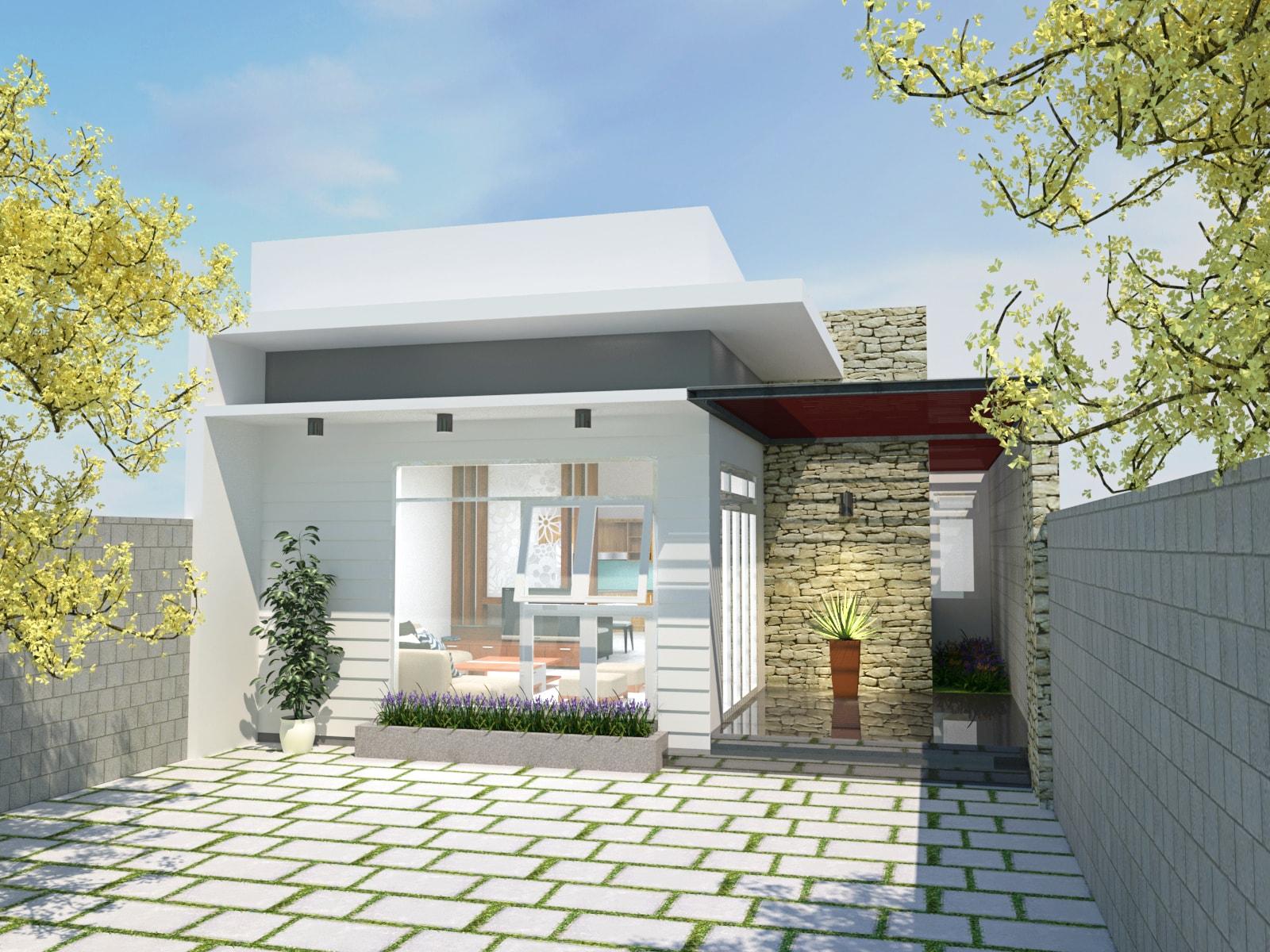 Gia chủ hãy thiết không gian sống với sự kết hợp hài hòa cảnh quan thiên nhiên và sân vườn xung quanh